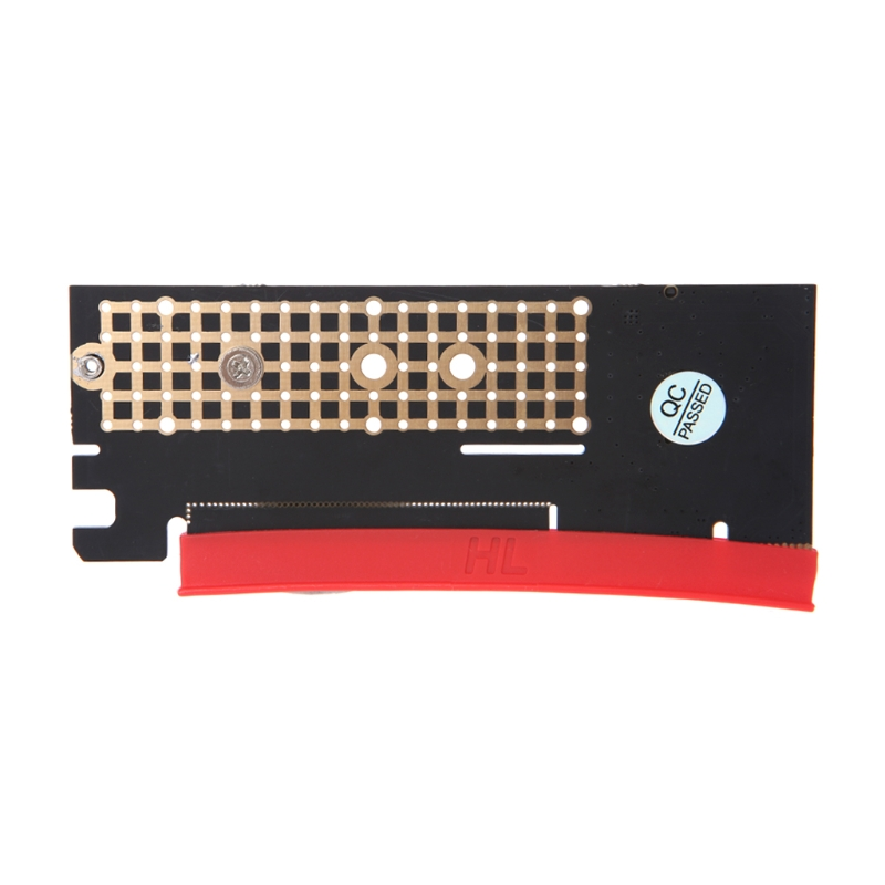 M.2 NGFF NVMe SSD To PCI-E 3.0 X16/X4 Adapter Card With Heatsink Thermal Pad