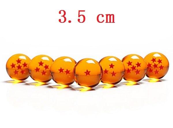 3.5 cm 1 Piece Dragon Ball 1 2 3 4 5 6 7 Stars Plastic Balls Japan Anime action figure toys Crystal ball Gift for Children агхора 2 кундалини 4 издание роберт свобода isbn 978 5 903851 83 6