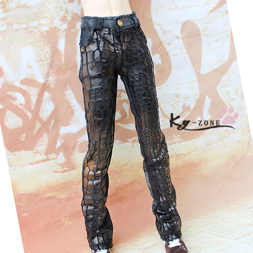 BJD doll clothes bjd pants fashion leather fight jeans - 1/3 uncle 2 colors doll transparent umbrella for bjd 1 3 sd10 sd13 sd17 uncle ip soom bjd doll accessories ac25