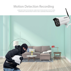 Image 4 - 1080P Wireless WIFI IP Camera Outdoor 720P Onvif Bullet Home Security Camera Night Vision 20m CCTV Wi Fi Cam APP CamHi P2P