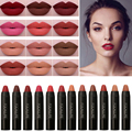 Hot Portable Batom Sexy Brown Colors Lip Tint Waterproof Labiales Makeup Matte Lipstick Lips Kit Rouge A  Levre Make Up