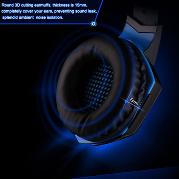KOTION EACH G2200 USB Headphones Vibration 7.1 Surround Sound And G2000 3.5MM Stereo Gaming Headset Light Headphone For Computer 5