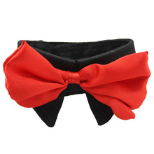 Lovely Pets Free shipping Hot Dog Neck Tie or Bow Tie or Cat Tie Pet Grooming Supplies Pet Flower Headdress Jun10