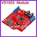 5 шт./лот VS1053 MP3 Модуль Совет По Развитию С Усилитель Мощности Плата Декодера Встроенной Функцией Записи