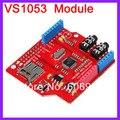 5 unids/lote VS1053 Junta de Desarrollo de Módulo MP3 Con Función de Grabación Decodificador Bordo Amplificador de Potencia A Bordo