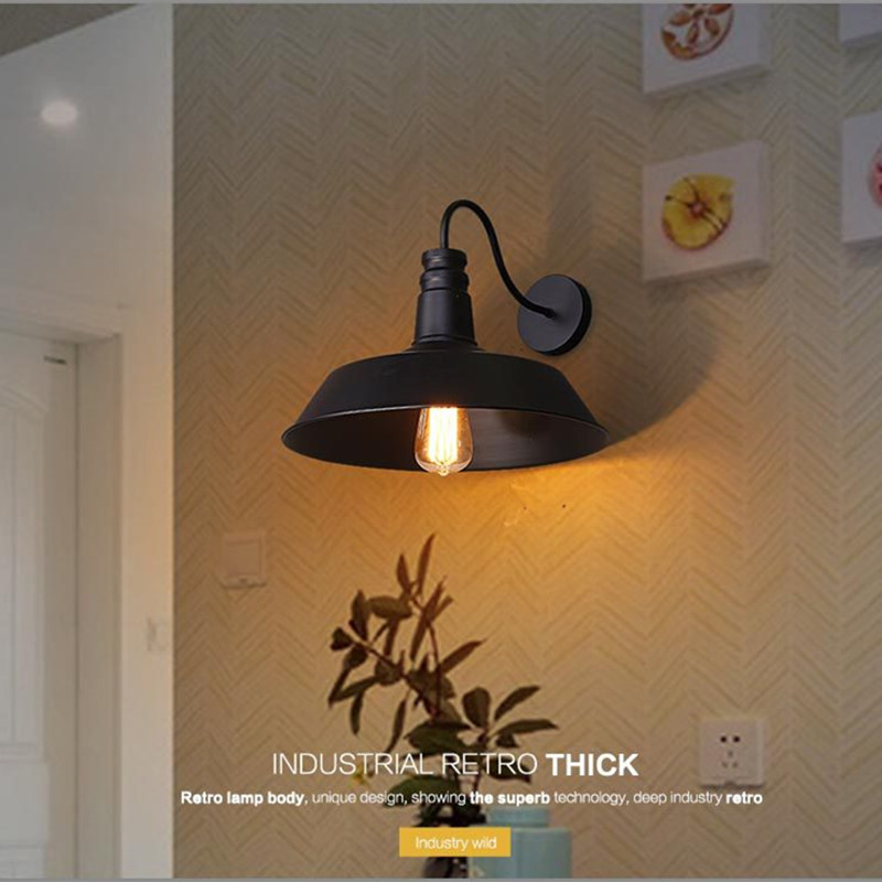 Vintage Loft Wall Lamp sconce wall lights for home Industrial ...