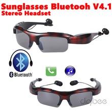 2016 Newest Sport Wireless Sunglasses Bluetooth V4.1 Headset Headphone Music & Call For Apple iPhone 4 5 5s 6 6s Plus Samsung LG