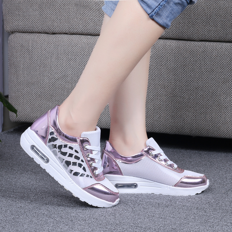 Trainers Women Casual Shoes Summer Style Outdoor Breathable Low Top Shoes Woman Flat Heels Sport Ladies Shoes Size 35-40 ZD71 (16)