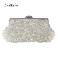 5af11446f White Ivory Black Pearl Bags Fashion Women Day Clutch Evening Bag Bride Clutch  Handbag Banquet Bag