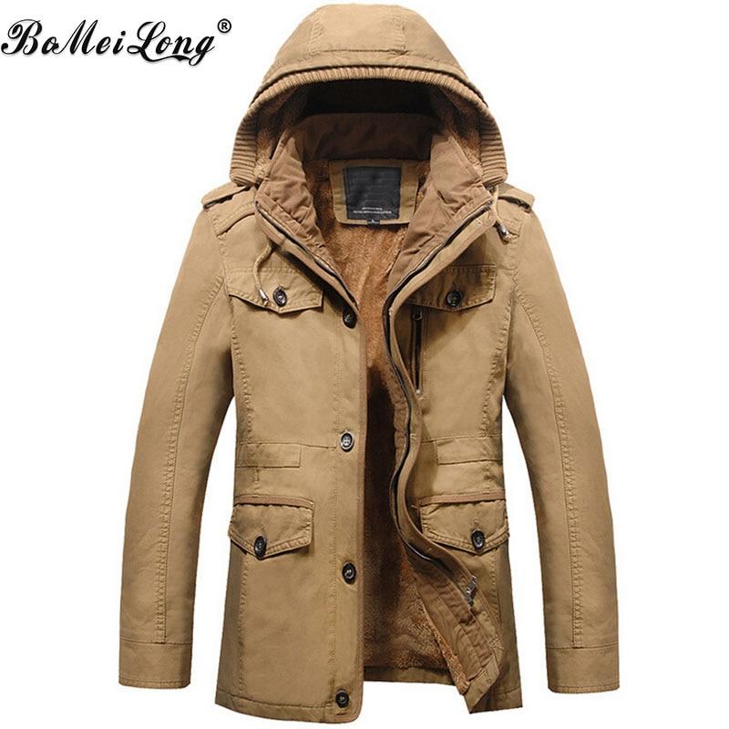 2017 Winter New Military Man Fleece Casual Jacket Fashion Warm Hooded Coat Outerwear Men Army Cargo Cloth Casacos Masculinos