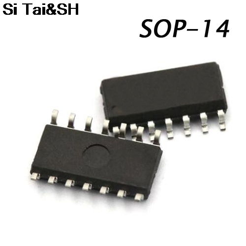 20PCS <font><b>74HC125D</b></font> 74HC125 SN74HC125D SOP-14 Buffers & Line Drivers QUAD 3-ATE BUS BUF new original image