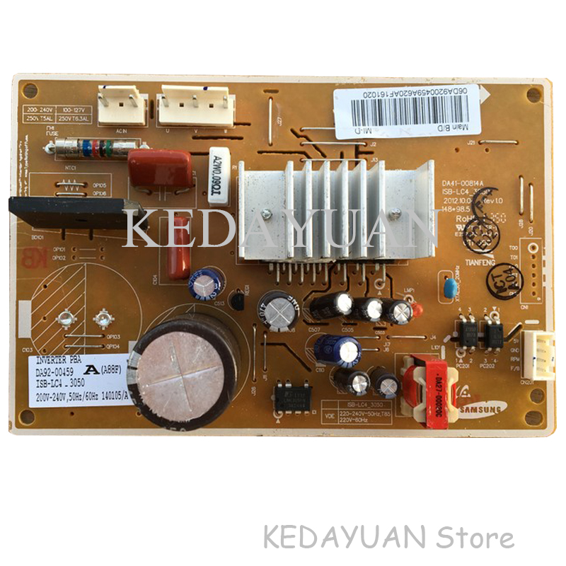 Free Shipping 100% Test Work For  Samsung Refrigerator Frequency Conversion Board  DA41-00814A DA92-00459A Power Board