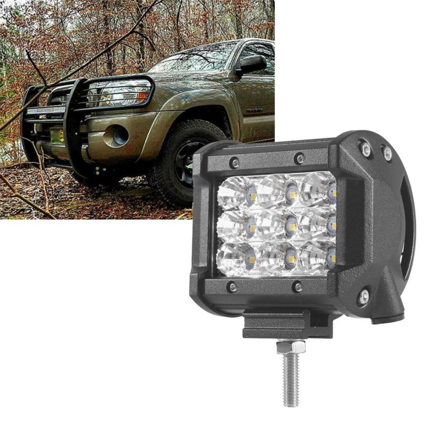 Car-styling 1 PCS 3-Row Flood Spot Faisceau Led Light Bar Travail Offroad Led conduite Lampe td908 Dropship видеоигра бука saints row iv re elected