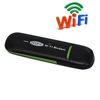 Livraison Gratuite! 3g usb wifi dongle HSUPA modem routeur pour Voiture Véhicule WIFI Hotspot similaire à Huawei E355