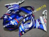 Горячие продажи, для 2000 2001 YAMAHA YZFR1 YZF R1 YZF R1 YZR1000 00 01 белый синий обтекатель для кузова мотоцикла комплект (литье под давлением)
