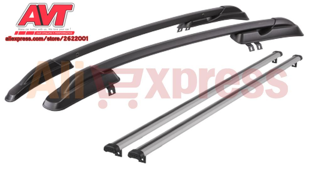 Roof Rails For Lada Granta SD Kalina SD Datsun On Do Car Styling Roof Rack Side