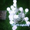 5 M led luzes cordas com bola 50led decoração da lâmpada Festival de férias luzes De Natal ao ar livre iluminação