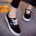 2017 New Women Canvas Shoes Breathable Classic Fashion brand casual shoes Flats Women shoes woman Drop Shipping ST40