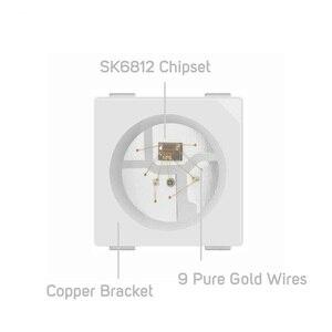 Image 2 - Sk6812 100 rgb pixel smd (similar com ws2812b), 10 peças 5050/3535 peças chip digital endereçável individualmente, cor completa, led, dc5v