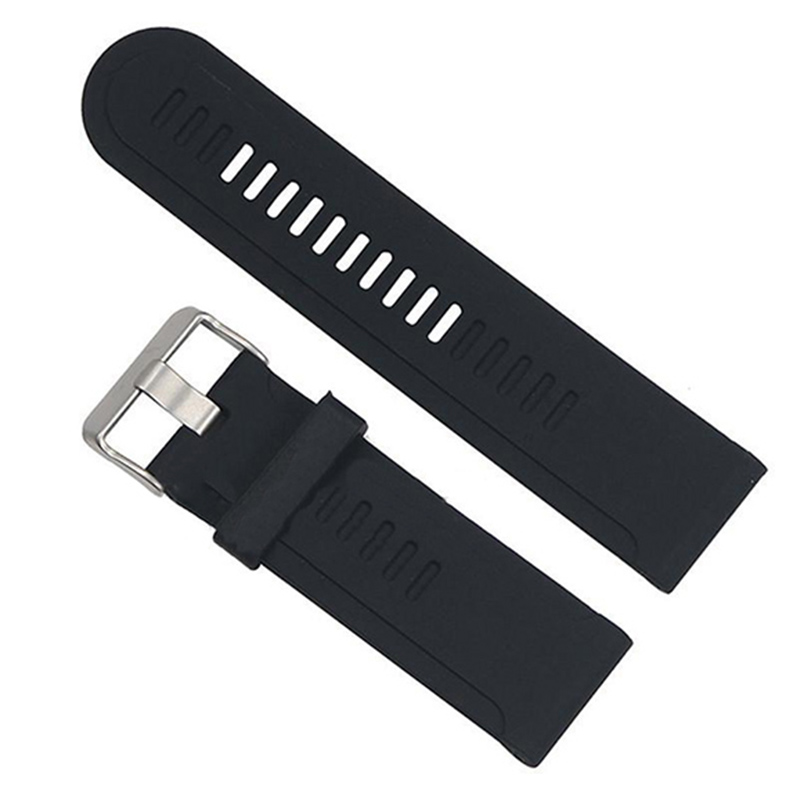 Silicone Watch Band Strap Kit for Garmin D2 Fenix Fenix2 Fenix3 Fenix3 HR Quatix Band, Black fenix uc02 rechargeable black