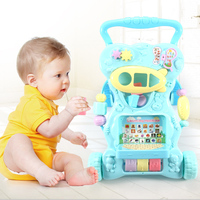 Baby Toddler Rider Push Infant Child Multi Functional Walking Walker Anti Rollover Adjustable Height 6 18 Months