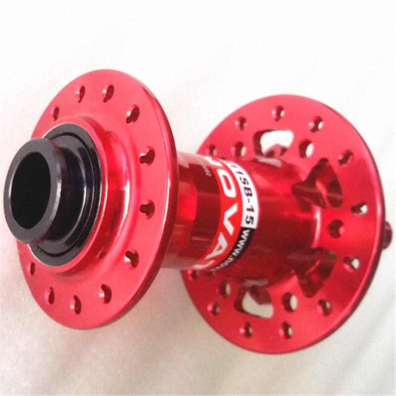Red front 6 nail mtb diac hubs red QR novatec D881SB 200g 28H 9x108mm Bearing MTB bicycle front hub
