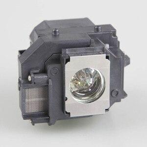 Image 3 - Высококачественная Лампа для проектора EPSON ELPL58 с корпусом