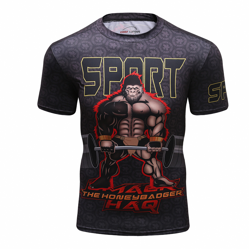 Brand Russia T-<font><b>shirt</b></font> Bear T <font><b>Shirt</b></font> 3D Print BJJ Jiu Jitsu T <font><b>Shirt</b></font> Men 3d <font><b>Anime</b></font> Tshirts <font><b>Sexy</b></font> Male Compression <font><b>shirt</b></font> Mens Clothing image
