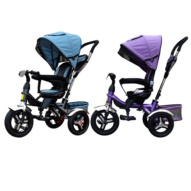 dreirad fahrrad kind dreirad baby fahrrad bb trolley fahrrad luftreifen rotary sitz dreir der. Black Bedroom Furniture Sets. Home Design Ideas