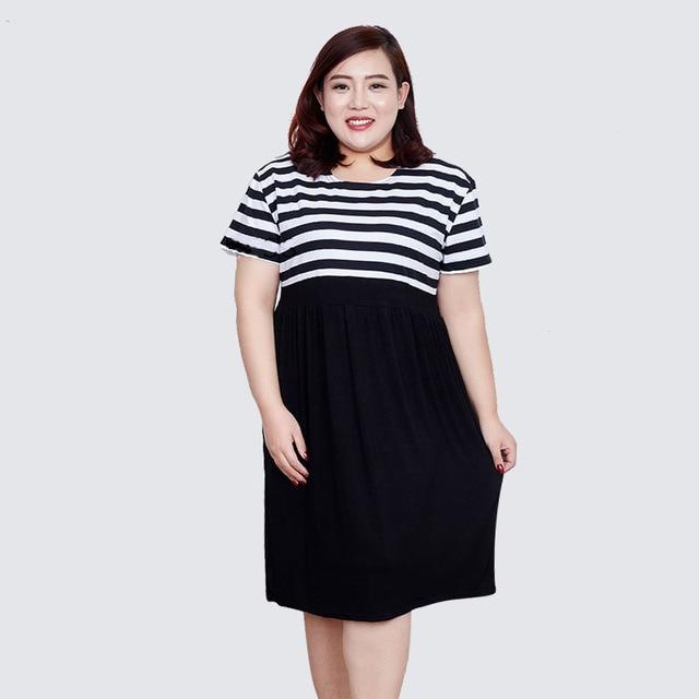 c9d54b991d090 US $25.8 |Aliexpress.com : Buy Pregnant Women Pleated Dress Summer  Pregnancy Clothes Loose Plus Size Maternity Dresses 3XL 5XL 80 160KG super  large ...