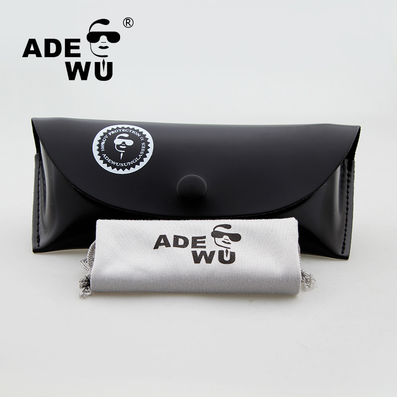 ADE WU Band Designer Case For Sunglasses Pouch Soft Glasses Bag Eyeglasses Case ...