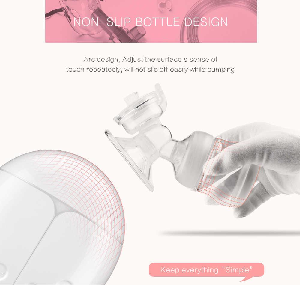 전기 유방 펌프 일방적 인 양측 유방 펌프 수동 실리콘 유방 펌프 아기 모유 수유 액세서리