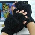 2015 Otoño y El invierno freeshipping guantes de ovejas de Lana de imitación mujeres invierno guantes gruesos guantes de ordenador