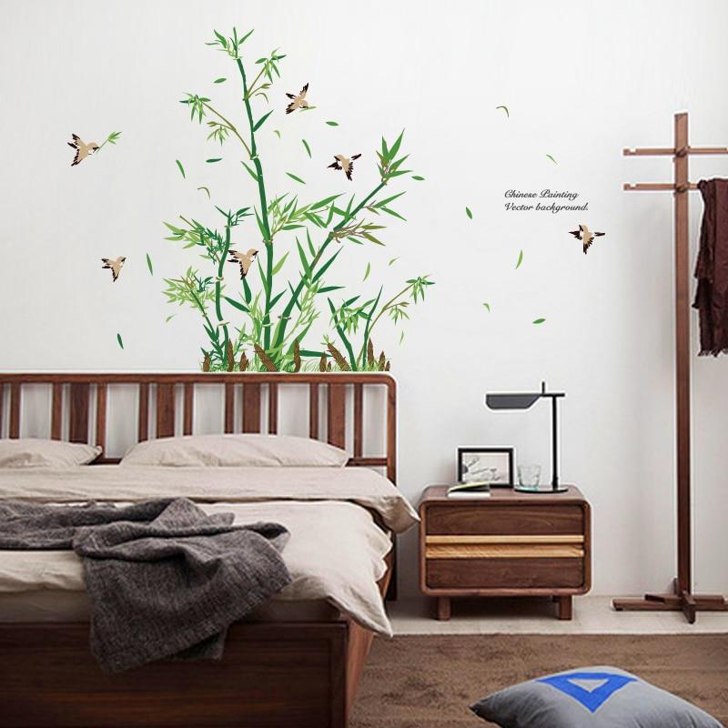 Stunning Stickers Salle De Bain Bambou Ideas - Awesome Interior ...