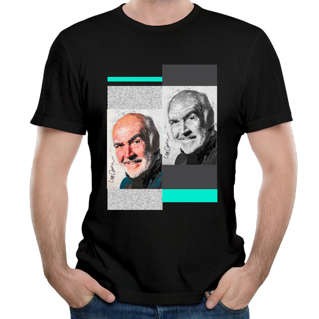 James Productor Escocés Redondo De Algodón Hombre Cuello Camiseta 7fyvbgY6