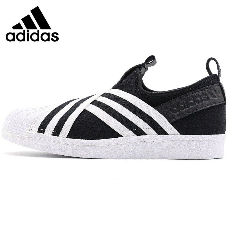 Original New Arrival 2018 Adidas Originals SUPERSTAR SLIPON W Womens Skateboarding Shoes SneakersOriginal New Arrival 2018 Adidas Originals SUPERSTAR SLIPON W Womens Skateboarding Shoes Sneakers