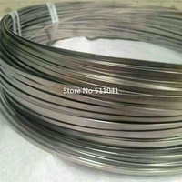 Gr5 Gr.5 grade 5 Titanium flat wire size 1.05mm*2.85mm*1500mm 5kg wholesale price,paypal