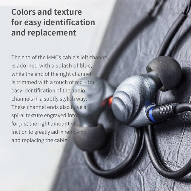FiiO F9 Pro Triple Pilote Hybride In-Ear Monitors earphone 1 synamic and 2 balanced armature drivers 5