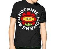 Süper Mario T Gömlek-Kırmızı Sıcak Yangın Çiçekler-Çocuk-Erkek 6xl