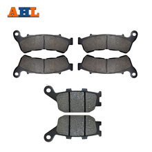 Wholesale AHL Front & Rear Brake Pads For Honda XL700 VA8 / VA9 / VAA Transalp (3 Piston Front Caliper ABS) XL 700 2008-2012