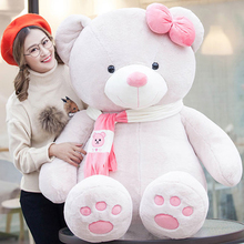 Cartoon Plush Animals Large Teddy Bear Stuffed Toy Cute Pillow Peluches Grandes Birthday Gift Ursos De Pelucia Doll Toy 50G0474