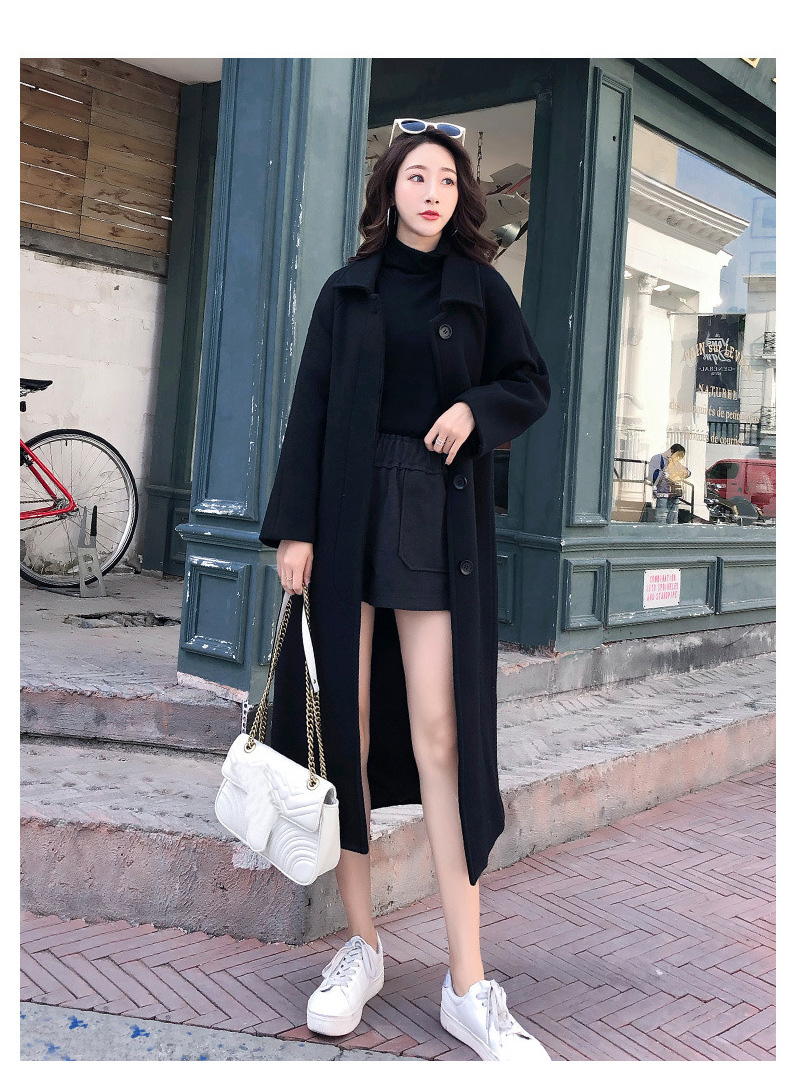 Fashion Winter Trench Coat For Women Long Coat Women Plus Size lingerie manteau femme hiver abrigos mujer invierno 18 11