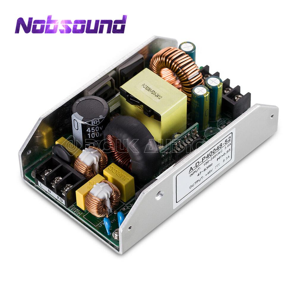 Nobsound Hi-Fi 400W Switching Power Supply (SMPS) 48V/8.3A With PFC For Digital Power Amplifier