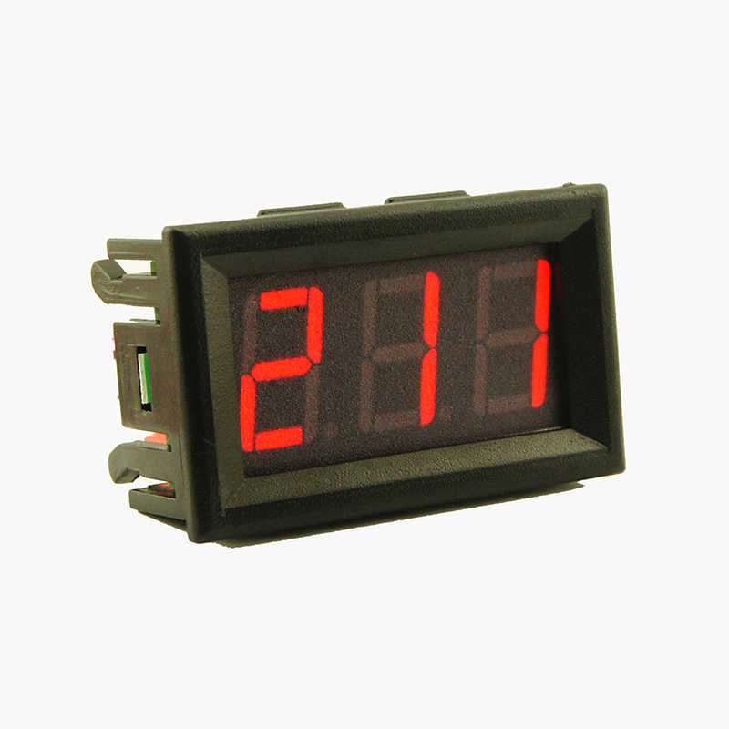 AC 70-500V Digital Voltmeter LED Display Panel 2 Wire Volt Voltage Test Meter