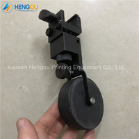 1 Pieces Hengoucn printer rubber wheels Adjustable distance hard Paper Rubber wheel for CD102