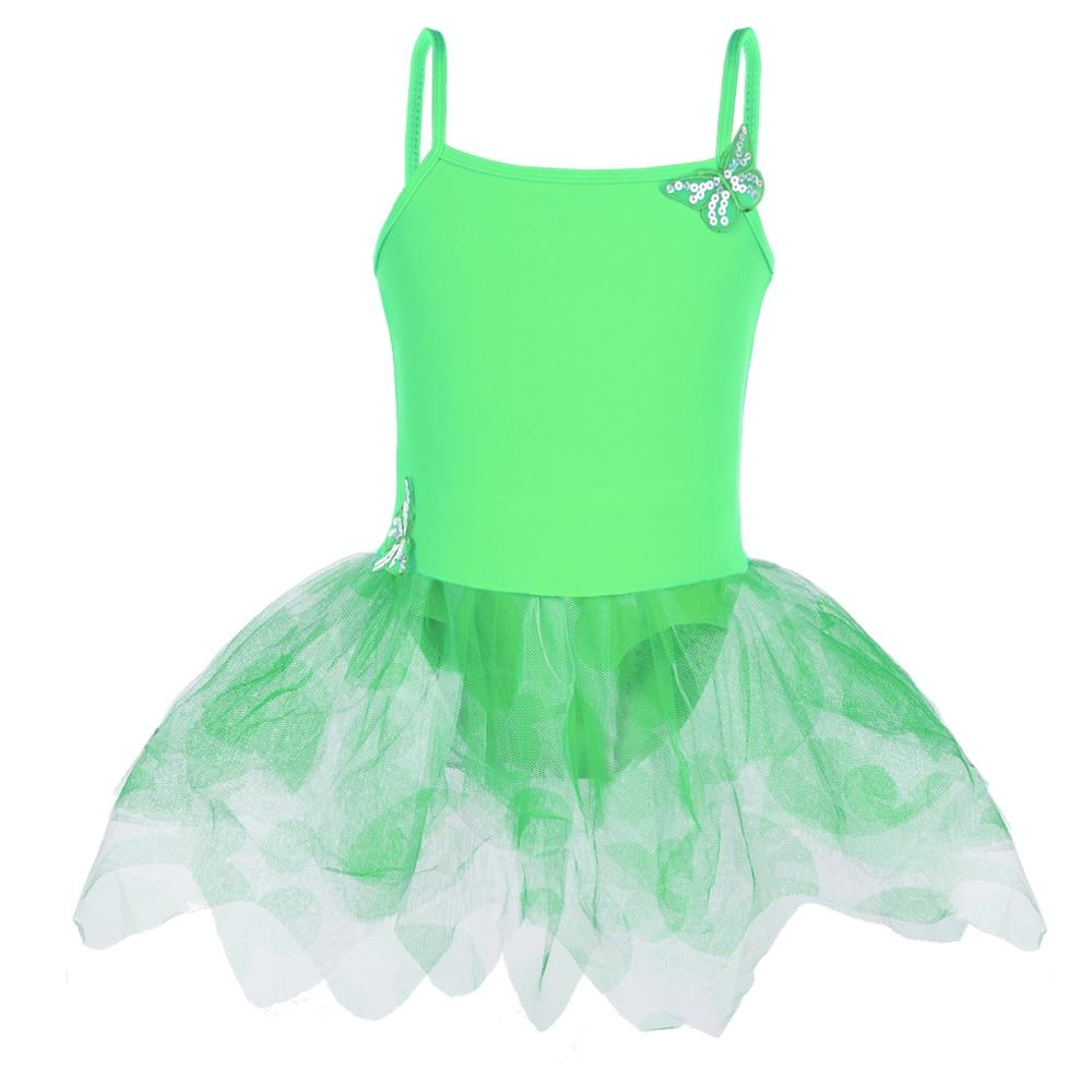 Nueva llegada de las niñas vestido de la honda del patrón de mariposa del estilo del ballet tutu Skate Party Show vestido SZ3-8Y