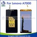 100% de calidad original para lenovo a7000 pantalla lcd + pantalla táctil digitalizador asamblea negro