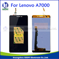 Qualidade 100% original para lenovo a7000 lcd display + touch screen digitador assembléia preto