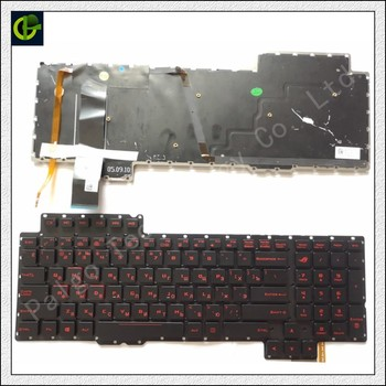 Ruso Teclado retroiluminado para Asus ROG G752 G752V G752VL G752VM G752VS G752VT G752VY. 13Z980 M 13Z980 T 13ZD980 G 13ZD980 M keyboard for asus ru keyboard asus transformer t100 keyboard -