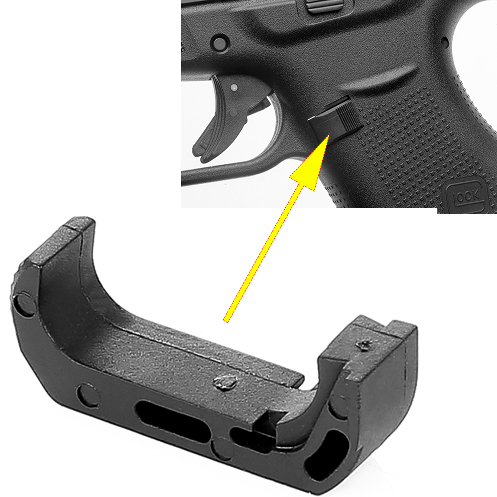 Magorui Glock Extended Magazine Release Catch Gen4 Mag 17 19 22 25 27 31 33